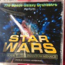 CDs de Música: THE SPACE GALAXY ORCHESTRA-MUSIC FROM STAR WARS EPISODE I-2000-NUEVO PRECINTADO. Lote 74222658