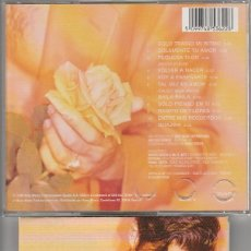 CDs de Música: CHAYANNE / VOLVER A NACER (CD SONY 1996). Lote 156452760