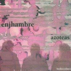CDs de Música: ENJHAMBRE / AZOTEAS (CD + DVD DIGIPACK BARCO 2009). Lote 185672461