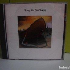 CDs de Música: STING - THE SOUL CAGES -CD. Lote 74453311