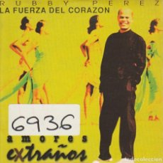 CDs de Música - RUBBY PEREZ / LA FUERZA DEL CORAZON (CD SINGLE CARTON PROMO 1996) - 74454435