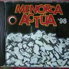 CDs de Música: 7 NOTAS 7 COLORES-ORGASMICAL-MALARIANS Y OTROS (MENORCA ACTUA 98)MUY RARO. Lote 74465559