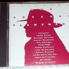 CDs de Música: LOTE 3 CD,S LOS JOVENES FLAMENCOS VOLUMENES 2,3,4. VARIOS ARTISTAS FLAMENCO ROCK POP. Lote 74469487