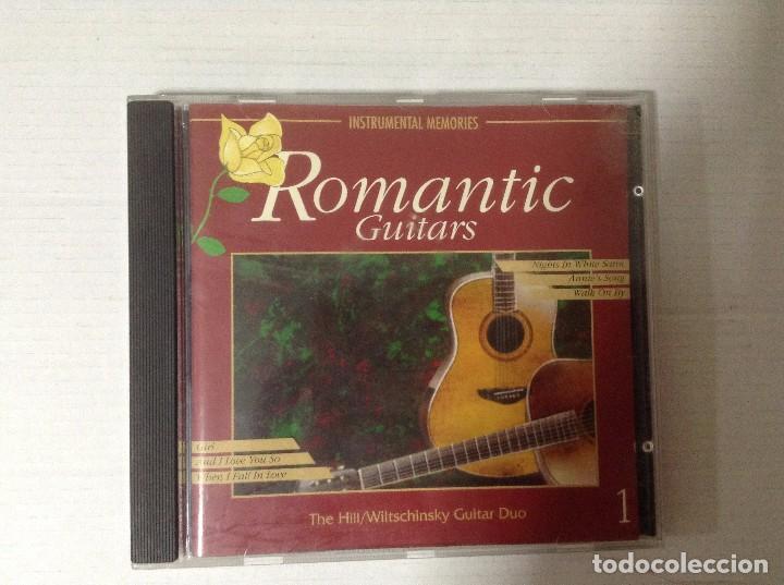 ROMANTIC GUITARS VOL 1 (Música - CD's Otros Estilos)