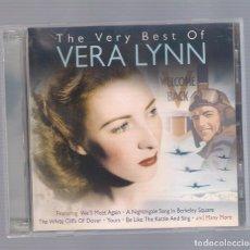 CDs de Música: VERA LYNN - THE VERY BEST OF VERA LYNN (2CD 2011, ONE DAY MUSIC DAY2CD114). Lote 74898235