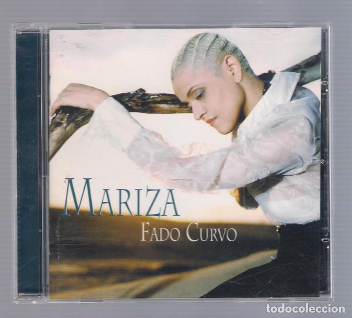 MARIZA - FADO CURVO (CD 2003 , WORLD CONNECTION 43041) (Música - CD's World Music)