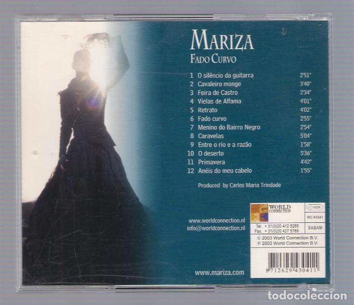 CDs de Música: MARIZA - Fado Curvo (CD 2003 , World Connection 43041) - Foto 2 - 74899635
