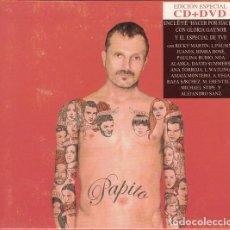 CDs de Música: MIGUEL BOSÉ - PAPITO - CD + DVD. Lote 75024935