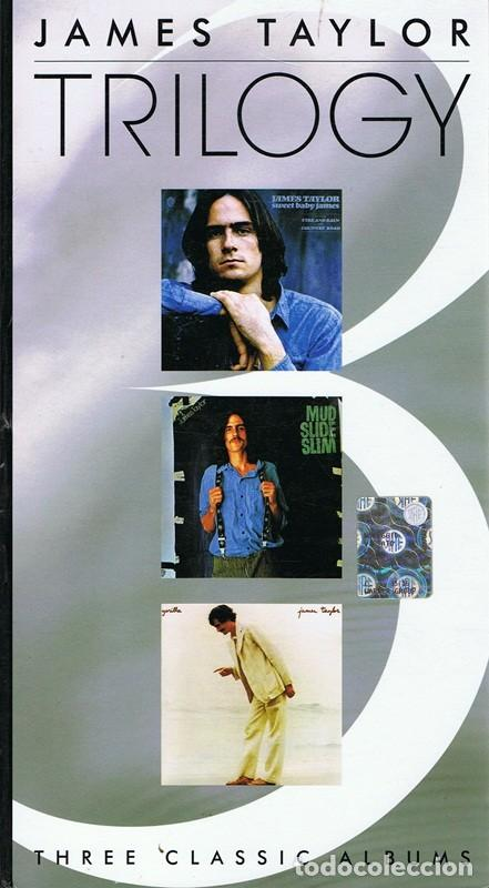 CD JAMES TAYLOR TRILOGY (3 CD) (Música - CD's Country y Folk)