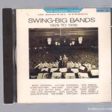 CDs de Música: VARIOS - SWING-BIG BANDS 1929 TO 1936, THE CLASSICS YEARS VOL.8 (CD 1987, BBC CD 655). Lote 75029539