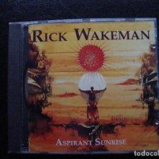 CDs de Música: RICK WAKEMAN - ASPIRANT SUNRISE - CD. Lote 75048679