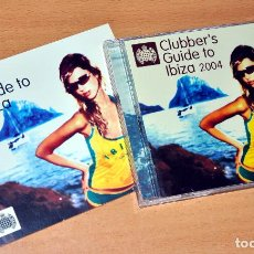 CDs de Música: DOBLE CD ALBUM + LIBRETO: MINISTRY OF SOUND - CLUBBER'S GUIDE TO IBIZA 2004 - CD ALBUM - 31 TRACKS. Lote 75053463