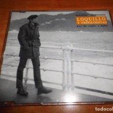 CDs de Música: LOQUILLO Y TROGLODITAS MIENTRAS RESPIREMOS / HOY HE VUELTO A BEBER CD SINGLE PROMO 1993 2 TEMAS. Lote 147833225