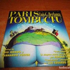 CDs de Música: PARIS TOMBUCTU BANDA SONORA CD ALBUM PROMO CARTON LUIS MENDO BERNARDO FUSTER MANOLO TENA AUTE. Lote 75066707