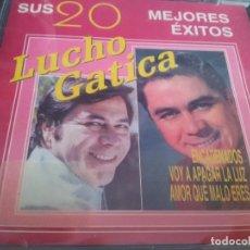 CDs de Música: LUCHO GATICA - SUS 20 MEJORES ÉXITOS (PRECINTADO). Lote 75122559