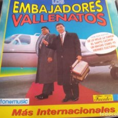 CDs de Música: LOS EMBAJADORES VALLENATOS - MÁS INTERNACIONALES / FONOMUSIC 1996 /. Lote 75123603
