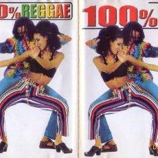 CDs de Música: 100 % REGGAE (2001) DIVUCSA . Lote 75125747