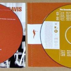 CDs de Música: THE ESSENTIAL MILES DAVIS (2 CD) COLUMBIA/LEGACY - JAZZ. Lote 75201115