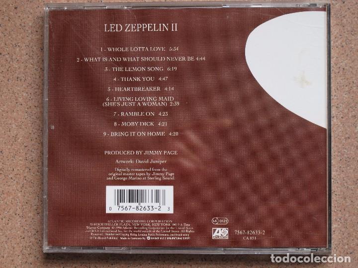 CDs de Música: LED ZEPPELIN - II - CD - Foto 3 - 75218627