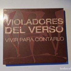 CDs de Música: VIOLADORES DEL VERSO VIVIR PARA CONTARLO. Lote 102630656