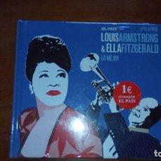 CDs de Música: CD LOUIS ARMSTRONG & ELLA FITZGERALD. Lote 75229363