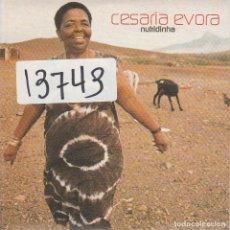 CDs de Música: CESARIA EVORA / NUTRIDINHA (CD SINGLE CARTON PROMO 2001). Lote 195347192