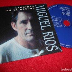 CDs de Música: MIGUEL RIOS LAGRIMAS EN LA BASURA CD SINGLE PROMOCIONAL 1997. Lote 75281271