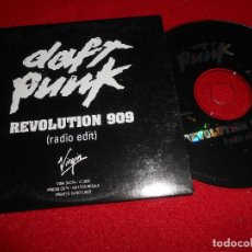 CDs de Musique: DAFT PUNK REVOLUTION 909 CD INGLE PROMOCIONAL 1997. Lote 75283247