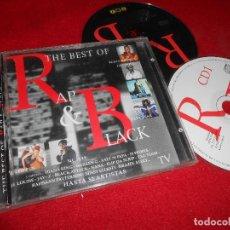CDs de Música: THE BEST OF RAP & BLACK 2 CD 1998 BUSTA RHYMES+LL COOL J+SWEET BOX+PAPA BEAR+MC LYTE. Lote 75287619