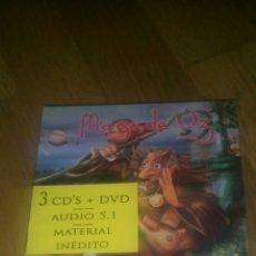 CDs de Música: NUEVO Y PRECINTADO.MAGO DE OZ FINISTERRA DELUXE EDITION. 3CDS + DVD. LOCOMOTIVE 2006. . Lote 75353722