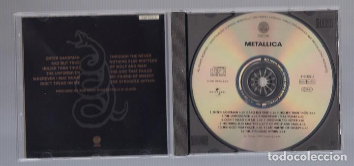 CDs de Música: METALLICA - Black Album (CD 1991, Vertigo 510 022-2) - Foto 3 - 75408331