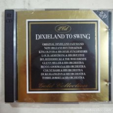CDs de Música: DIXIELAND TO SWING - GLENN MILLER & HIS ORCHESTRAS Y OTRAS - 2 CDS GOLD COLLECTION 1992 - ITALY . Lote 75432987