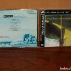 CDs de Música: RAY OBIEDO - SWEET SUMMER DAYS - CD NEW AGE. Lote 198593425