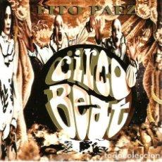 CDs de Música: CD FITO PAEZ : CIRCO BEAT ( ARGENTINA ROCK) . Lote 75543003