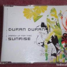 CDs de Música: CD SINGLE PROMOCION DURAN DURAN SUNRISE ESTUCHE PLASTICO FINO. Lote 75548631