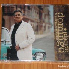 CDs de Música: CD SINGLE PROMOCION PRECINTADO PLACIDO DOMINGO QUIEREME MUCHO 2 TRACKS ESTUCHE PLASTICO FINO. Lote 75549115