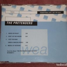 CDs de Música: CD SINGLE PROMOCION THE PRETENDERS 4 TRACKS GREATEST HITS ESTUCHE PLASTICO FINO. Lote 75552423