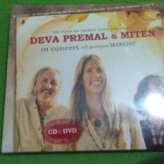 CDs de Música: DEVA PREMAL & MITEN IN CONCERT CD + DVD . Lote 75554943