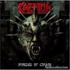 CDs de Música: KREATOR HORDES OF CHAOS EDICION ESPECIAL EN CAJA CD+DVD NUEVO PRECINTADO. Lote 75558395