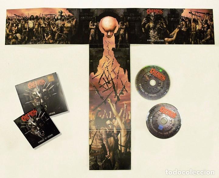 CDs de Música: KREATOR HORDES OF CHAOS EDICION ESPECIAL EN CAJA CD+DVD NUEVO PRECINTADO - Foto 2 - 75558395