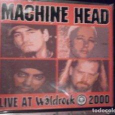 CDs de Música: CD. MACHINE HEAD- LIVE AT WALDROCK DIGIPAK PRECINTADO. Lote 75571259