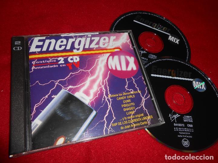 ENERGIZER MIX 2CD 1996 CANDY GIRLS + FELICIA + SHAGGY + MOLIDE MC + ETC (Música - CD's Disco y Dance)