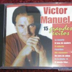 CDs de Música: VICTOR MANUEL (15 GRANDES EXITOS) CD 1999. Lote 75581723