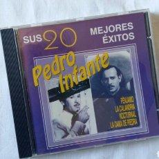 CDs de Música: (SEVILLA) CD PEDRO INFANTE SUS 20 MEJORES EXITOS. Lote 75588155