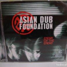 CDs de Música: ASIAN DUB FOUNDATION - ENEMY OF THE ENEMY - CD. Lote 75592383