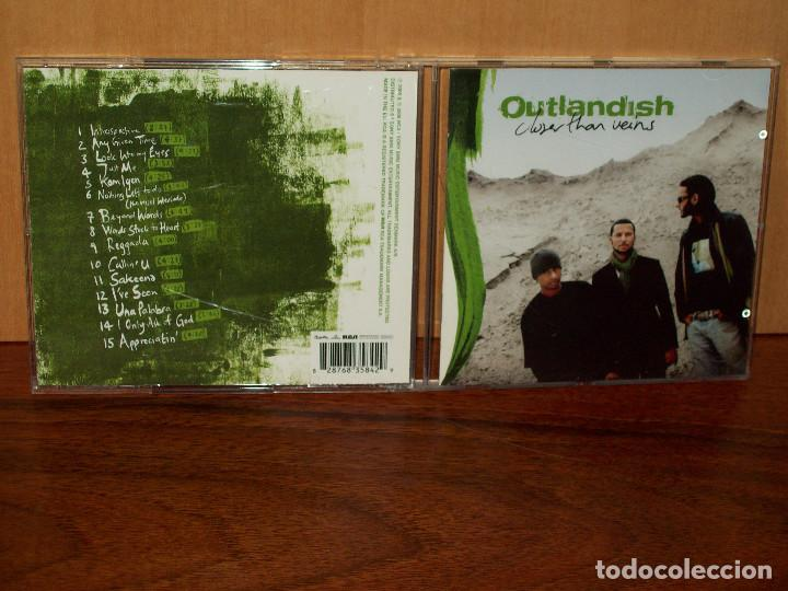 OUTLANDISH - CLOSER THAR VEINS - CD (Música - CD's Hip hop)