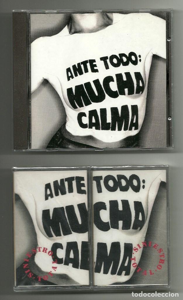 CDs de Música: SINIESTRO TOTAL. Ante todo mucha calma (Box-set 1992) - Foto 3 - 75623483