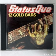 CDs de Música: STATUS QUO - 12 GOLD BARS - VERTIGO - CD. Lote 75652127