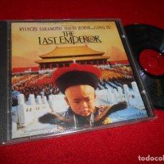 CDs de Música: THE LAST EMPEROR BSO OST CD 1987 SAKAMOTO + DAVID BYRNE . Lote 75687643