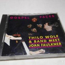 CDs de Música: CD - MUSICA - GOSPEL FACES DE THILO BIG BAND WOLF & BAND MEET JOAN FAULKNER - C8. Lote 75795311